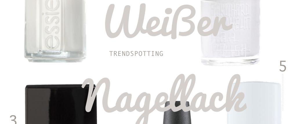 Nagellack-Trend: Weiß