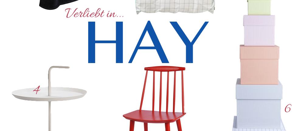 Hay –  Möbel aus Dänemark – jetzt auch in München