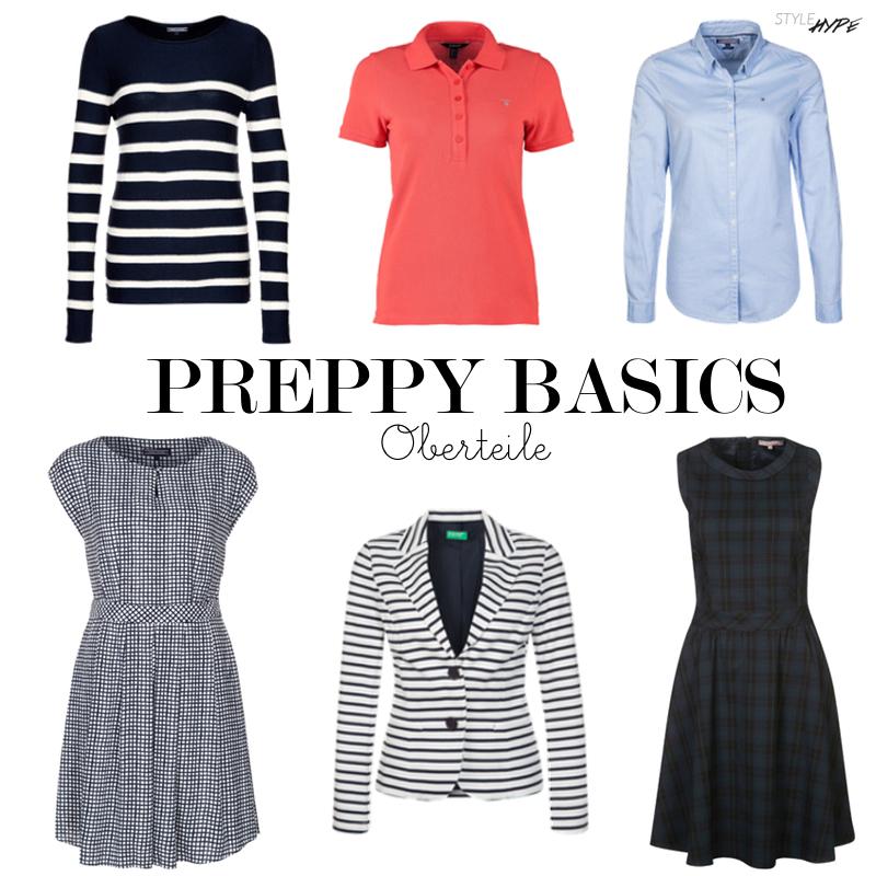 Preppy Style Frau