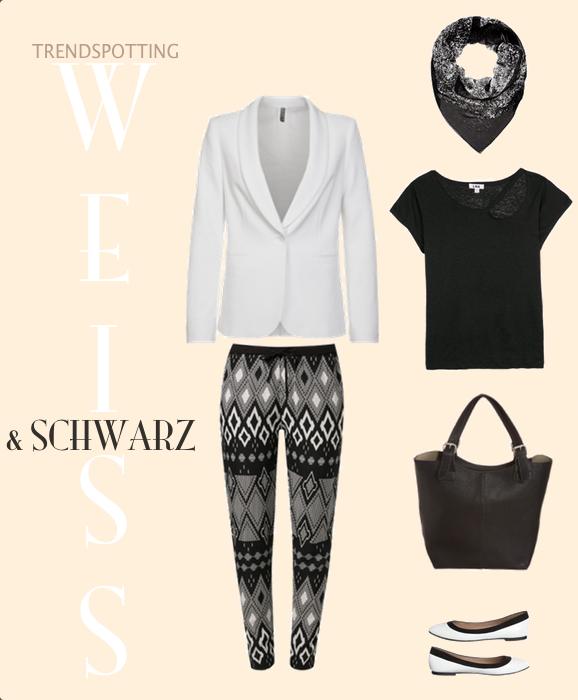 Weiß und Schwarz via StyleHype.de