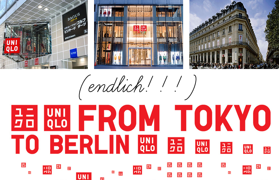 Uniqlo kommt nach Deutschland (endlich)