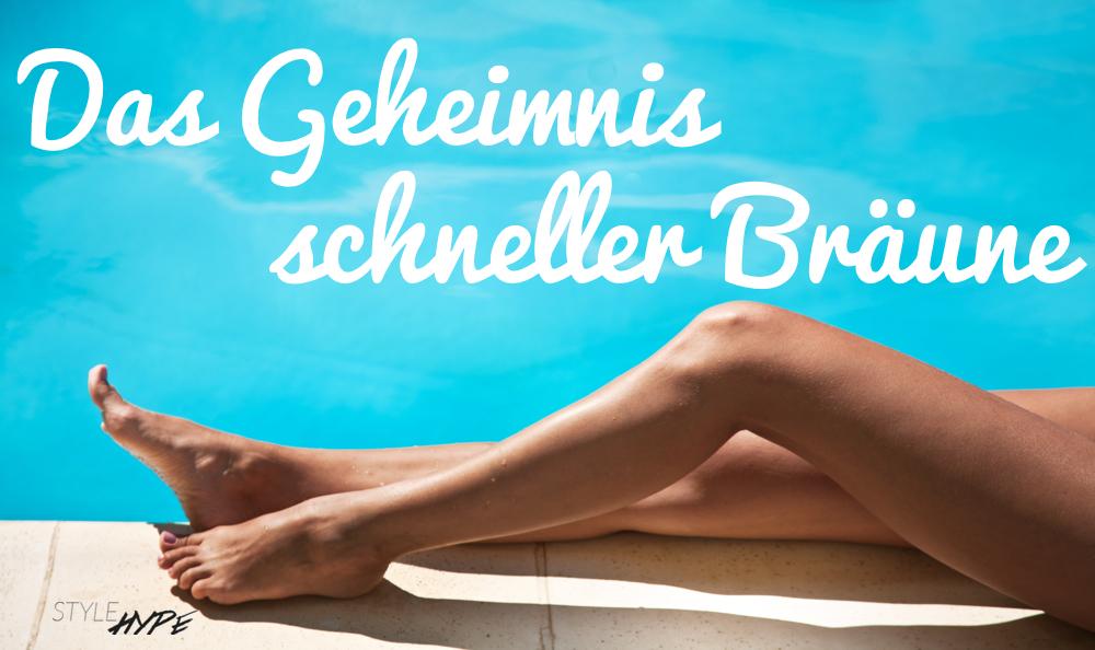 Schnell braun werden via StyleHype.de