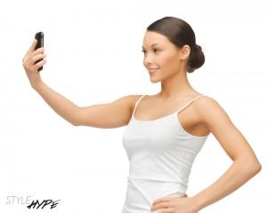 Selfies immer von leicht oben