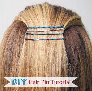 DIY Haarklemmen mit Nagellack
