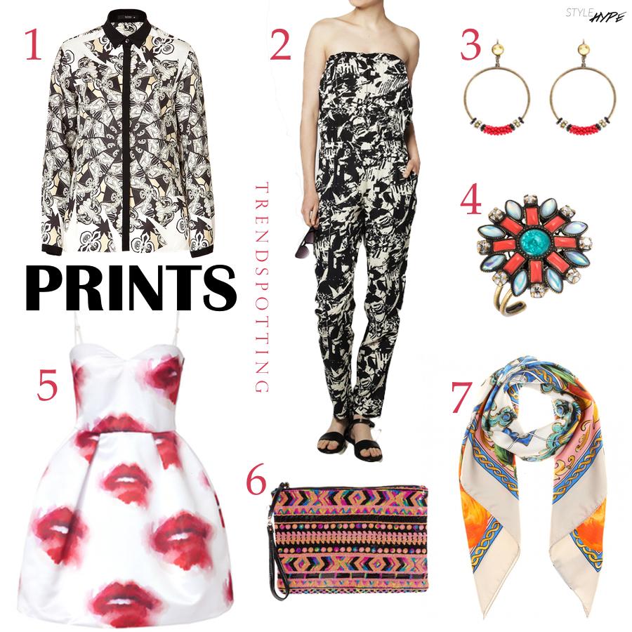 Trendspotting Prints / STYLEHYPE.de