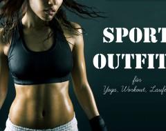 Sport Outfits: Schwitzen und gut aussehen