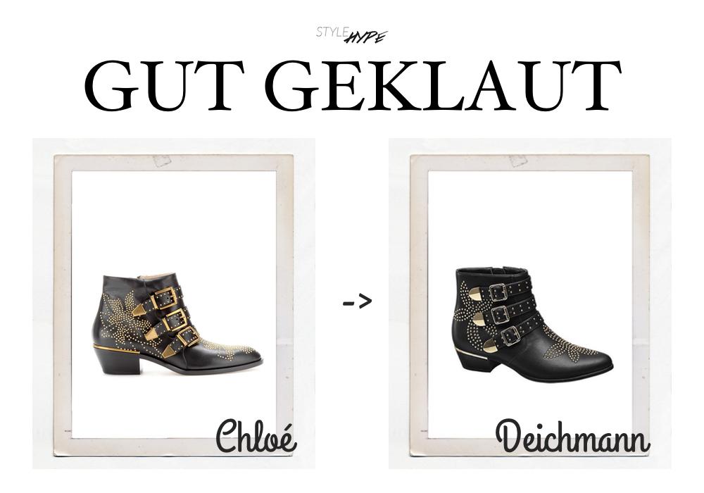 Gut geklaut: Deichmann bei Chloé | Stylehype